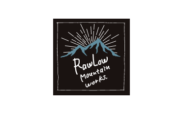 rawlow mountain works logo,ラウロウマウンテインワークス ロゴ